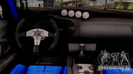 Honda S2000 Pandem Gulf Racing для GTA San Andreas вид изнутри
