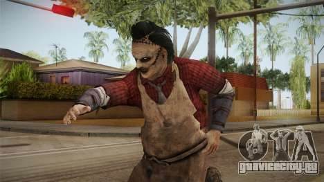 Leatherface Butcher для GTA San Andreas