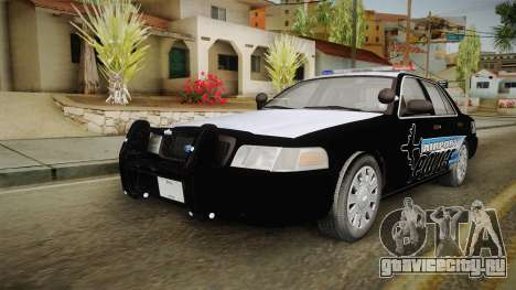 Ford Crown Victoria 2009 Airport Police для GTA San Andreas