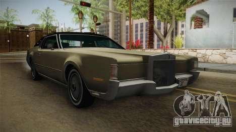 Lincoln Continental Mark IV 1972 для GTA San Andreas вид справа