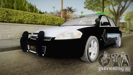 Chevrolet Impala 2009 Airport Authority для GTA San Andreas