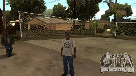 Футболка Oxxxymiron для GTA San Andreas