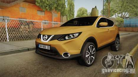 Nissan Qashqai 2016 HQLM для GTA San Andreas