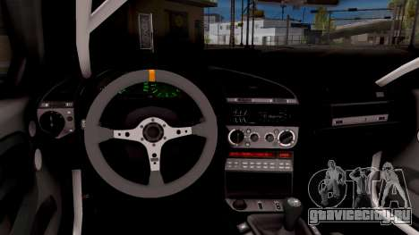 BMW M3 E36 Stanced для GTA San Andreas вид изнутри