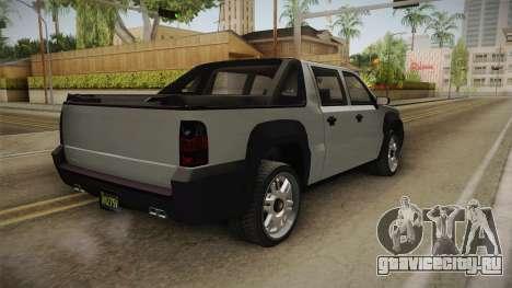 GTA 5 Declasse Granger Pickup для GTA San Andreas вид слева