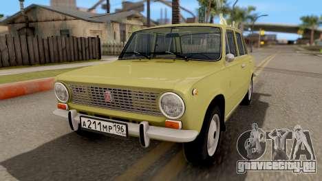 ВАЗ 2101 Копейка Сток для GTA San Andreas