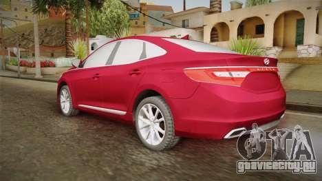 Hyundai Azera 2016 для GTA San Andreas вид слева