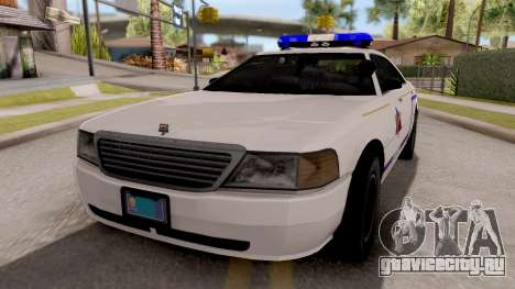 Dundreary Admiral Hometown PD 2009 для GTA San Andreas