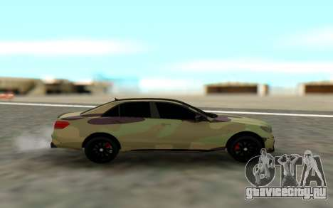 Brabus S63 для GTA San Andreas вид слева