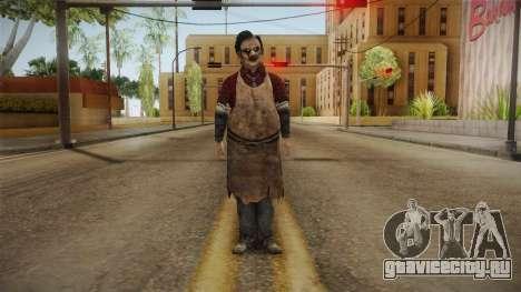 Leatherface Butcher для GTA San Andreas второй скриншот