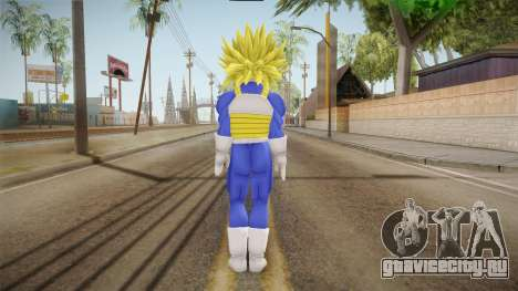DBX - Super Trunks Saiyan Armor для GTA San Andreas третий скриншот