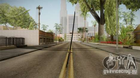 Katana для GTA San Andreas третий скриншот