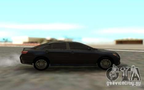 Toyota Camry Sport для GTA San Andreas вид слева