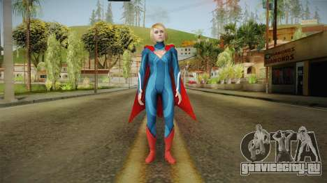 Injustice 2 - Supergirl для GTA San Andreas второй скриншот