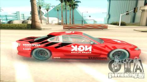 Nissan Silvia S15 NGK Red для GTA San Andreas вид слева
