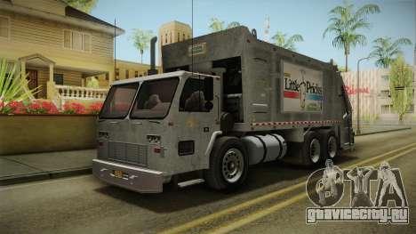 GTA 5 Jobuilt Trashmaster 2 для GTA San Andreas вид справа