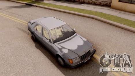 Mercedes Benz W124 для GTA San Andreas вид справа