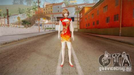 Dynasty Warriors 8 - Shangxiang Cheongsam для GTA San Andreas второй скриншот