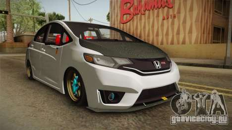 Honda Jazz GK FIT RS v2 для GTA San Andreas вид справа
