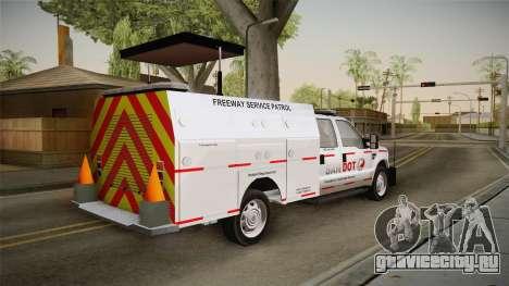 Ford F-250 2012 SA DOT Highway Helper для GTA San Andreas