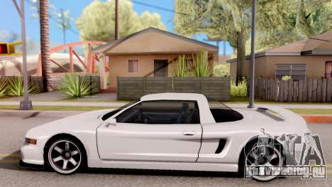BlueRay's Infernus 911 для GTA San Andreas вид слева