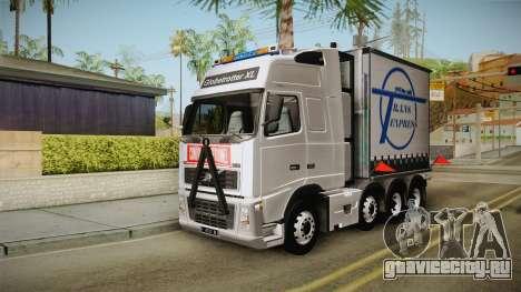 Volvo FH16 660 8x4 Convoy Heavy Weight для GTA San Andreas вид справа