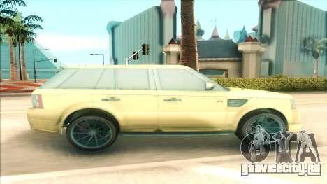 Range Rover Arden Design для GTA San Andreas вид слева
