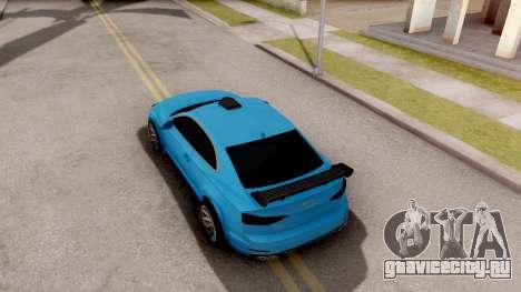 Audi S5 2017 Tuning для GTA San Andreas вид сзади