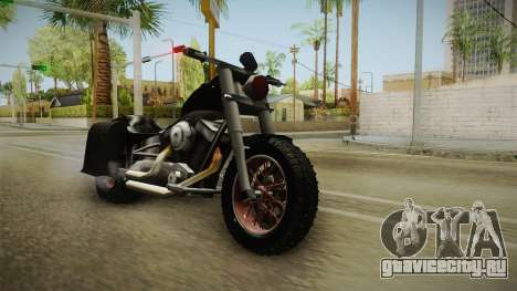 Freeway Adventure Custom v1 для GTA San Andreas вид сзади слева