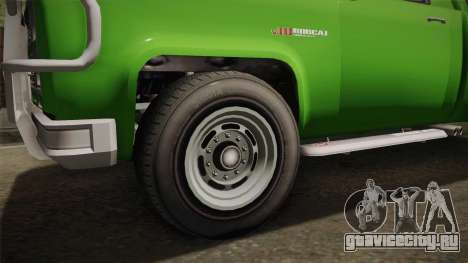 GTA 5 Vapid Bobcat S для GTA San Andreas вид сзади
