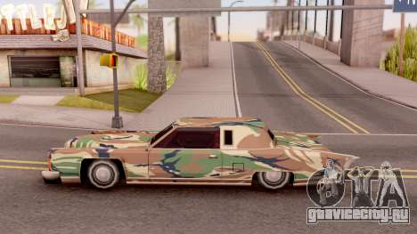 New Paintjob for Remington v3 для GTA San Andreas вид слева