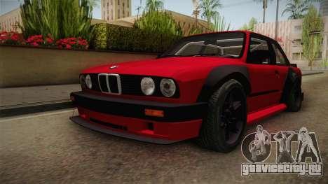 BMW M3 E30 Rocket Bunny для GTA San Andreas вид справа