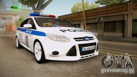 Ford Focus 1.6 Turkish Police для GTA San Andreas