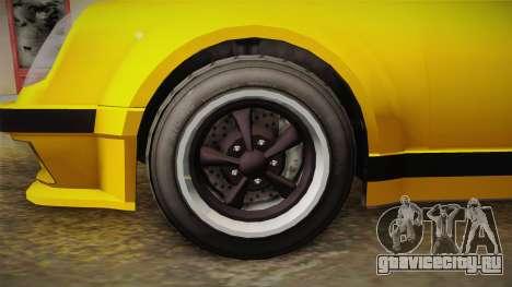 GTA 5 Pfister Comet Retro Cabrio для GTA San Andreas вид сзади
