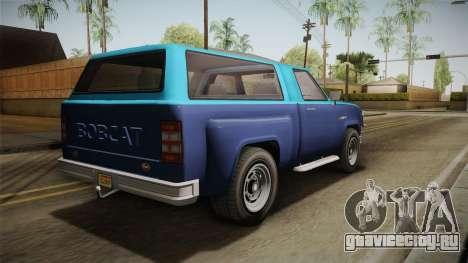 GTA 5 Vapid Bobcat S IVF для GTA San Andreas вид слева