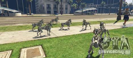 DOG Military Robot 1.0 для GTA 5 третий скриншот