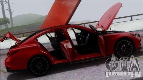 Infinity Q50 для GTA San Andreas колёса