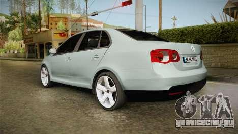 Volkswagen Jetta 2007 для GTA San Andreas вид слева