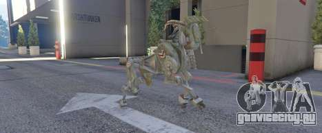 DOG Military Robot 1.0 для GTA 5 второй скриншот