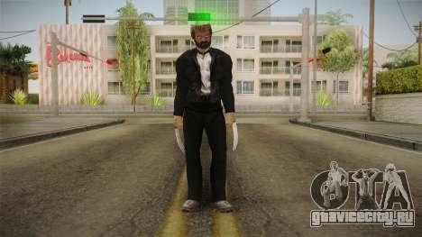 Logan Wolverine v2 для GTA San Andreas второй скриншот