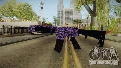 Tiger Violet M4 для GTA San Andreas второй скриншот