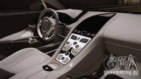 Aston Martin One-77 v2 для GTA San Andreas