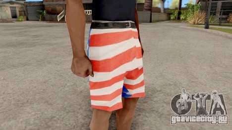USA Shorts для GTA San Andreas второй скриншот