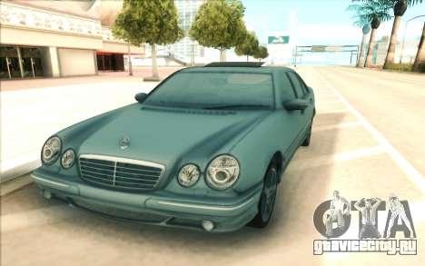 Mercedes-Benz W210 E55 для GTA San Andreas вид справа