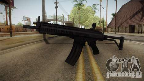 XCR Assault Rifle для GTA San Andreas второй скриншот