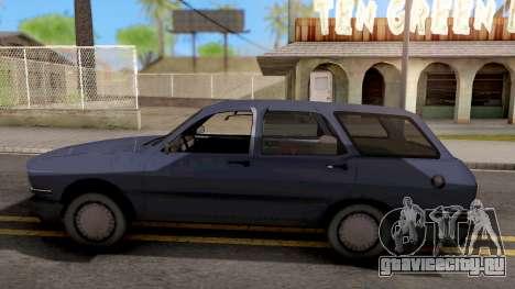 Renault 12 для GTA San Andreas вид слева