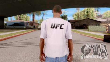 Футболка EA Sports UFC для GTA San Andreas третий скриншот