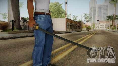 Katana для GTA San Andreas
