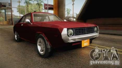 Driver: PL - Bonsai для GTA San Andreas вид справа