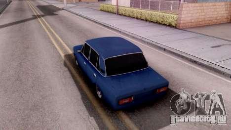 ВАЗ 2106 БПАН для GTA San Andreas вид сзади
